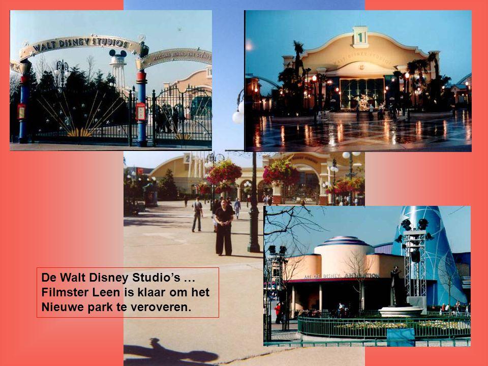 De Walt Disney Studio's … Filmster Leen is klaar om het Nieuwe park te veroveren.