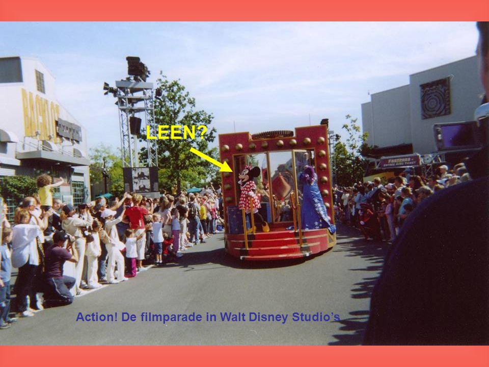 Action! De filmparade in Walt Disney Studio's LEEN