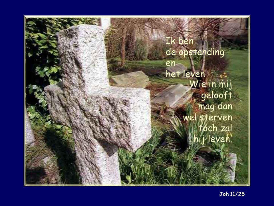 Jezus antwoordde: `Waarachtig, Ik verzeker u: voordat Abraham werd geboren, ben Ik. Joh 8/58