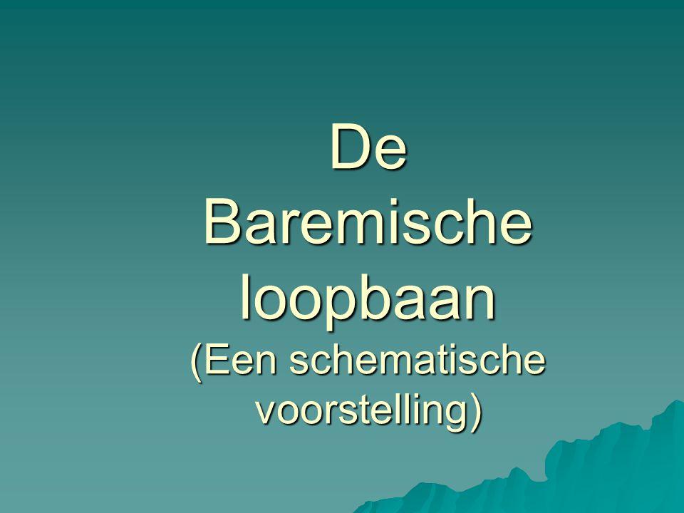 De Baremische loopbaan (Een schematische voorstelling)