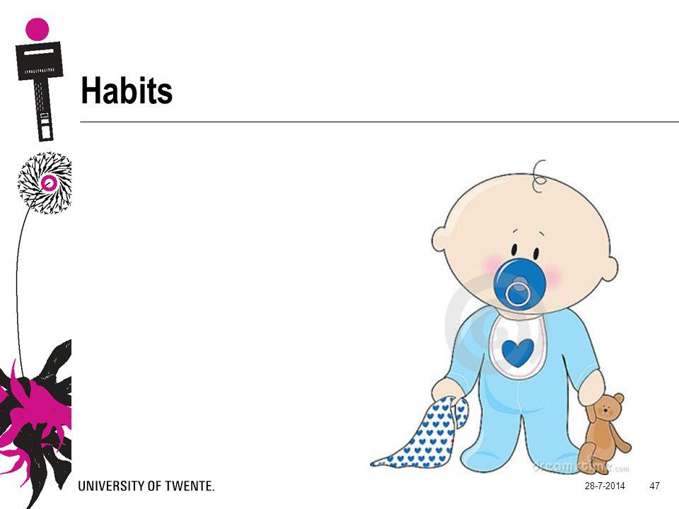 28-7-2014 47 Habits