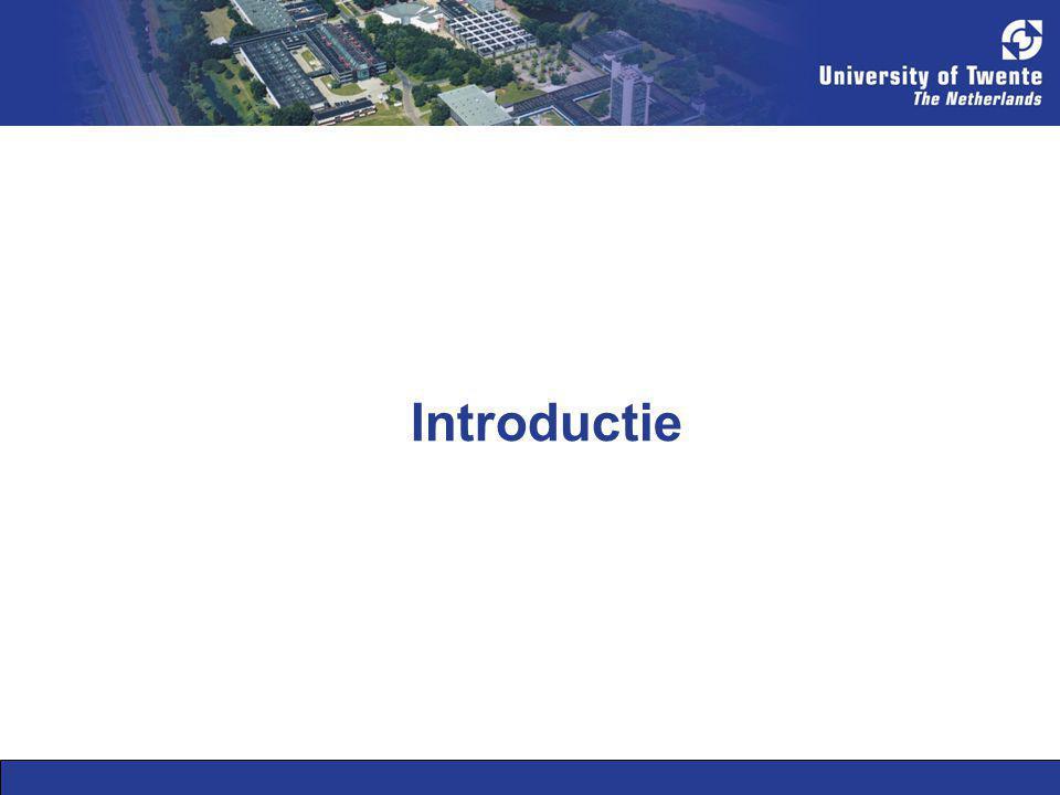 Classificatie van aspecten (1/2) Een classificatie systemen voor aspecten.