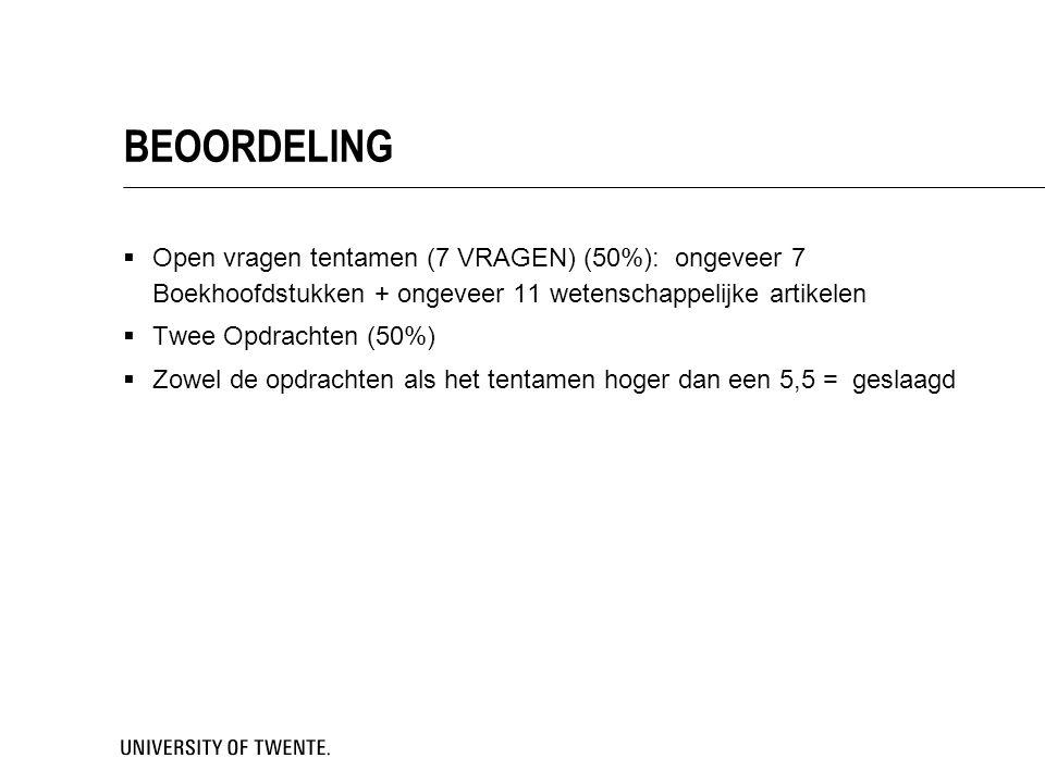 Vragen?  Matthijs Noordzij (m.l.noordzij@utwente.nl, Cubicus B333)