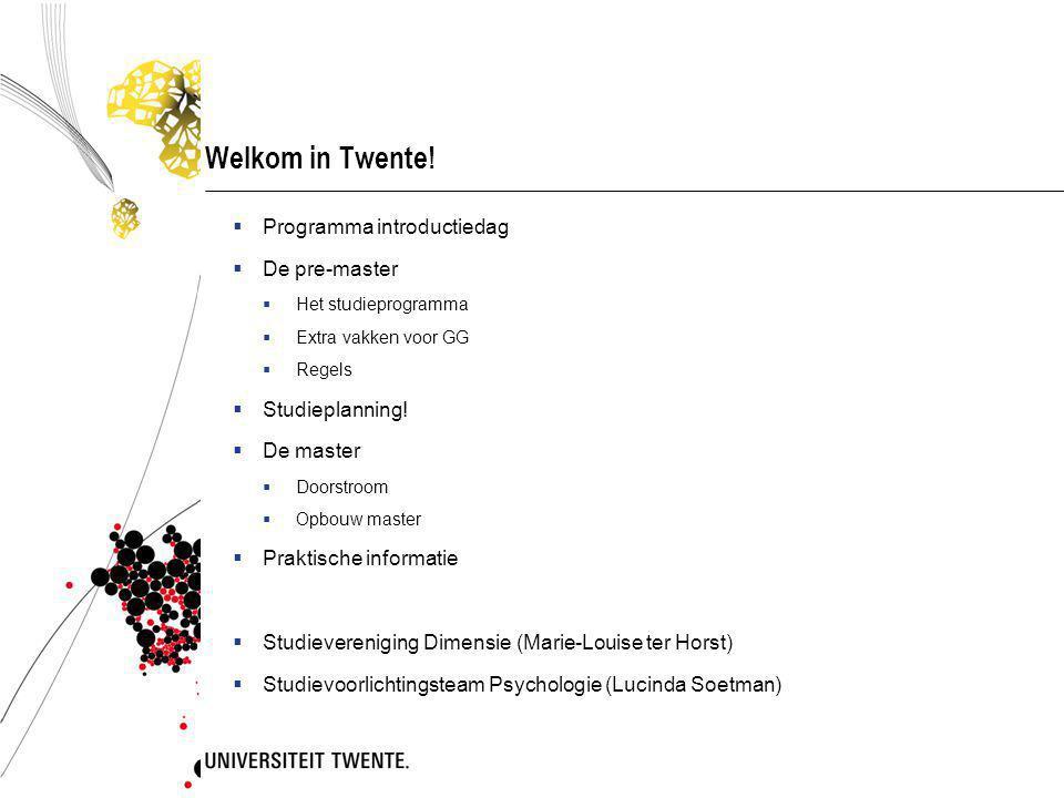 Welkom in Twente.