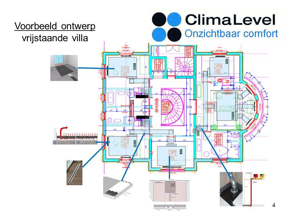 Voorbeeld ontwerp vrijstaande villa 4