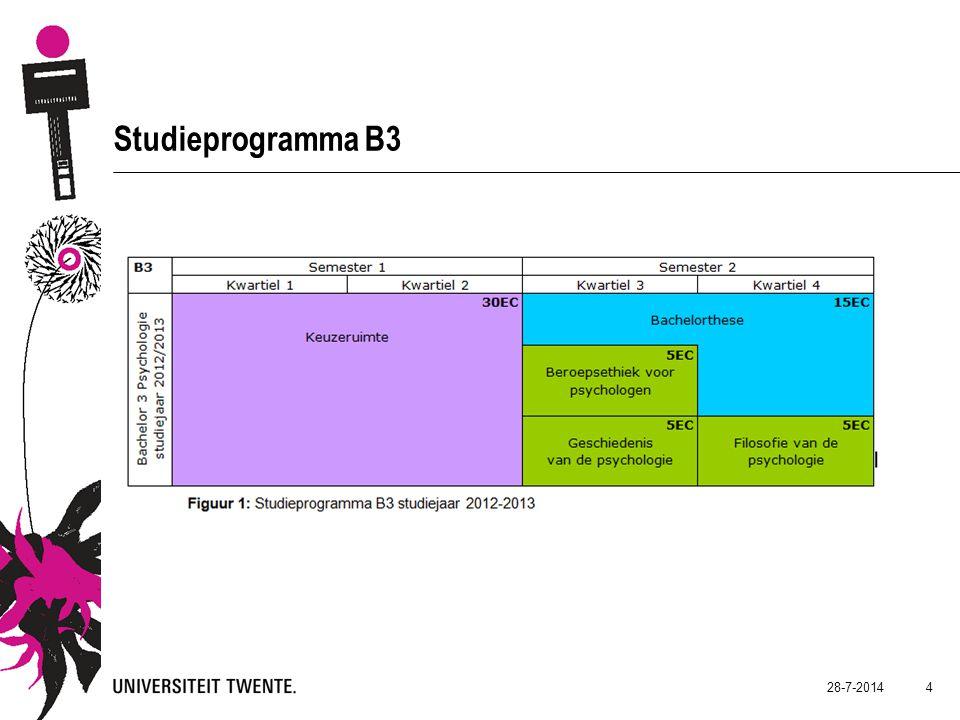 4 Studieprogramma B3