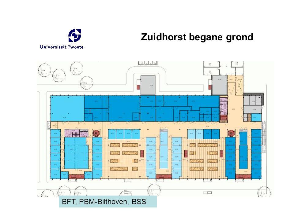 Zuidhorst begane grond BFT, PBM-Bilthoven, BSS