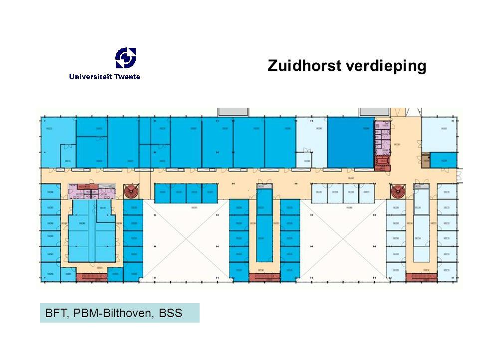 Zuidhorst verdieping BFT, PBM-Bilthoven, BSS