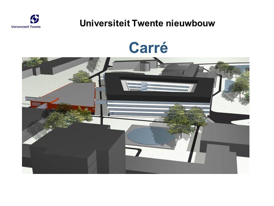 Universiteit Twente nieuwbouw Carré