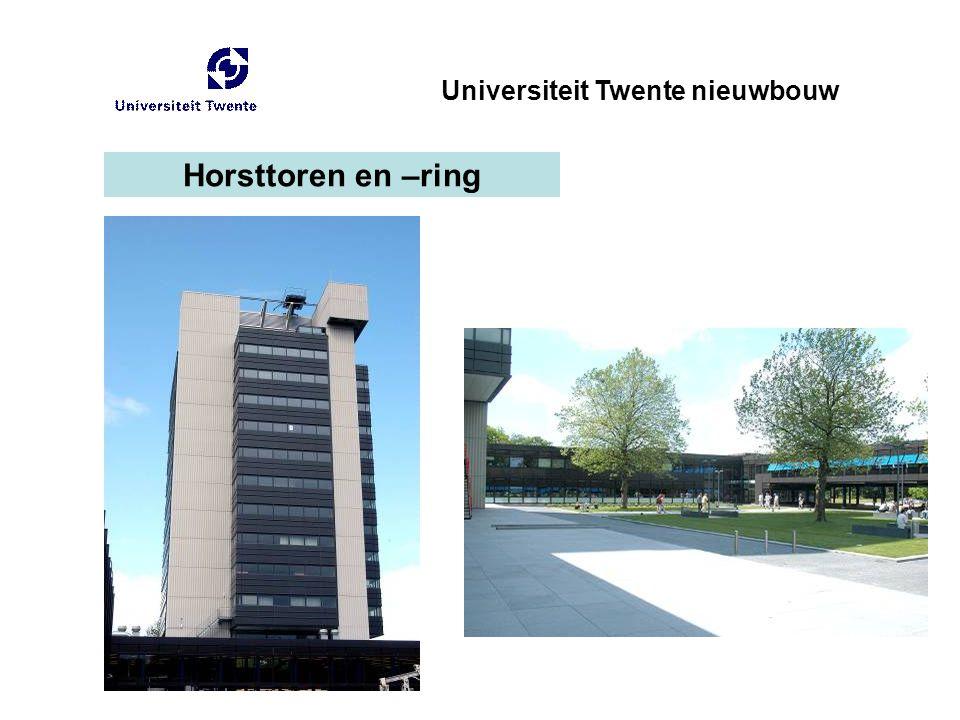 Horsttoren en –ring Universiteit Twente nieuwbouw