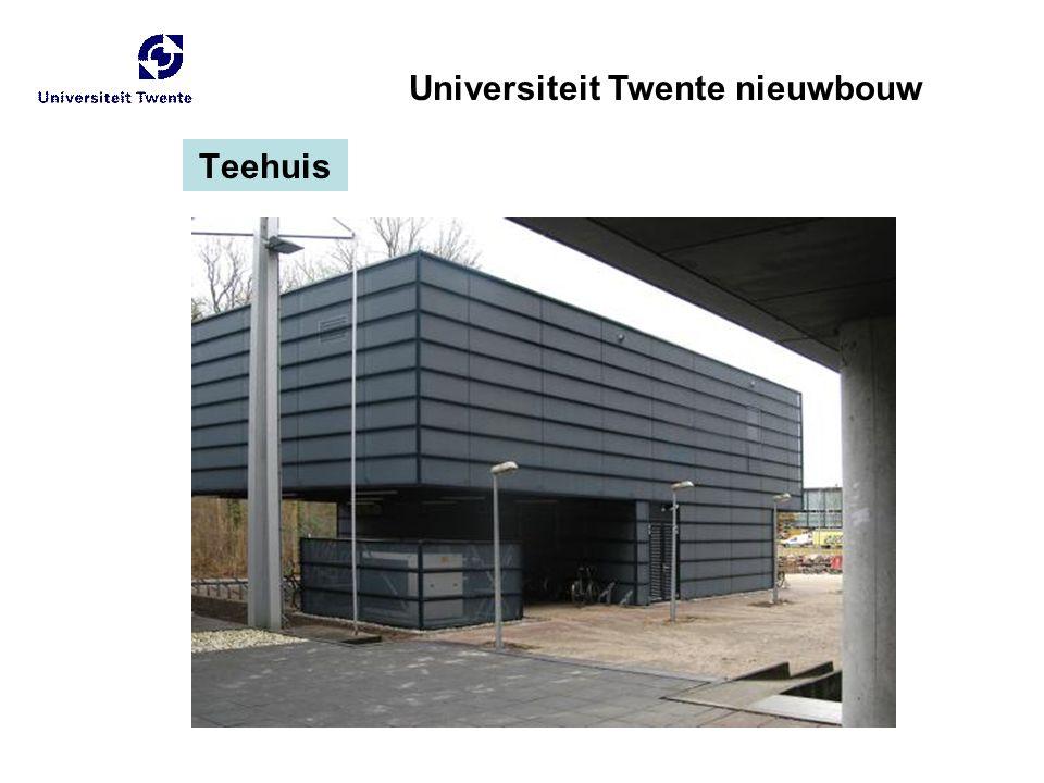 Teehuis Universiteit Twente nieuwbouw