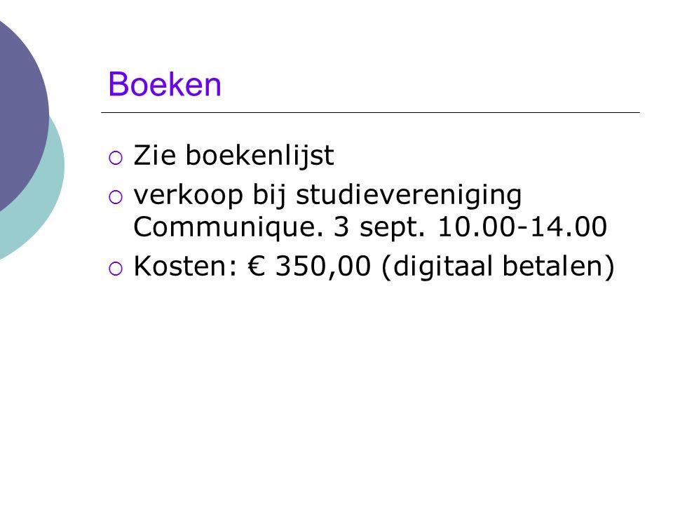 Rooster; vakken; tentamens  Rooster http://www.utwente.nl/so/student/onderwijs/roosters/bachel or/communicatiewetenschap/ dinsdag.