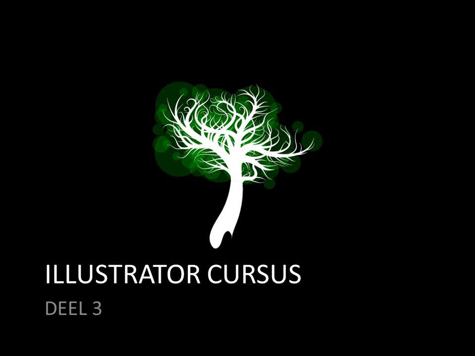ILLUSTRATOR CURSUS DEEL 3