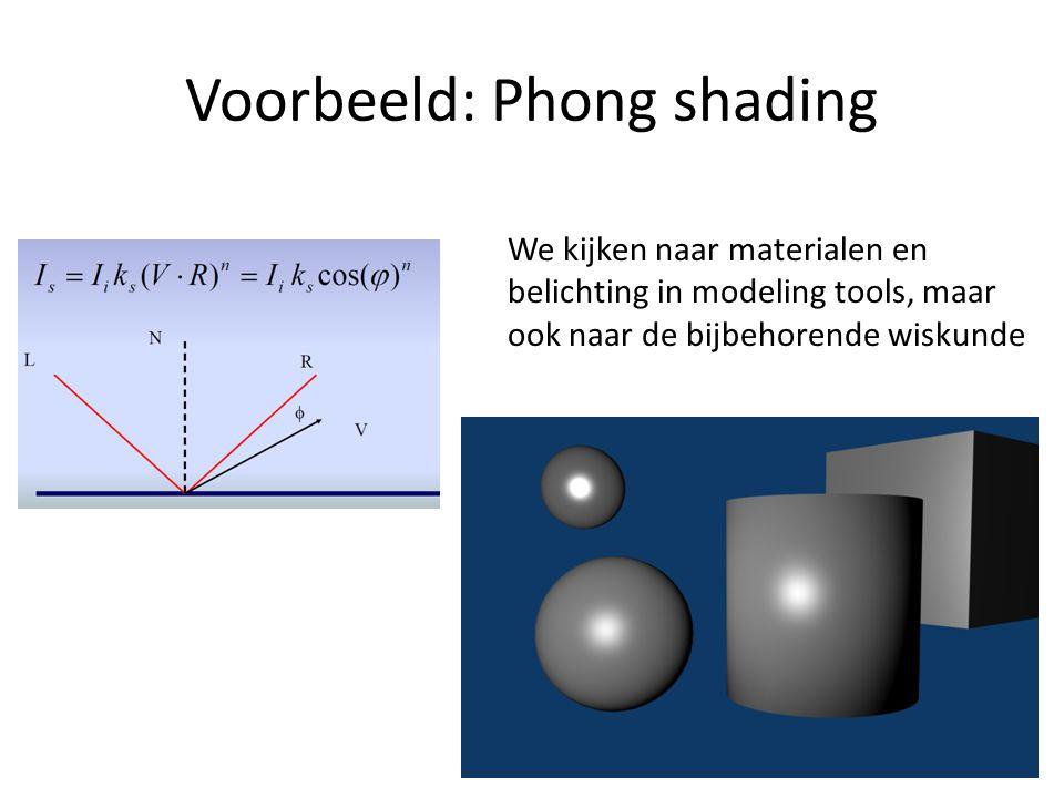 Theorie en praktijk We behandelen de theorie inclusief de wiskunde graphics tijdens de colleges.