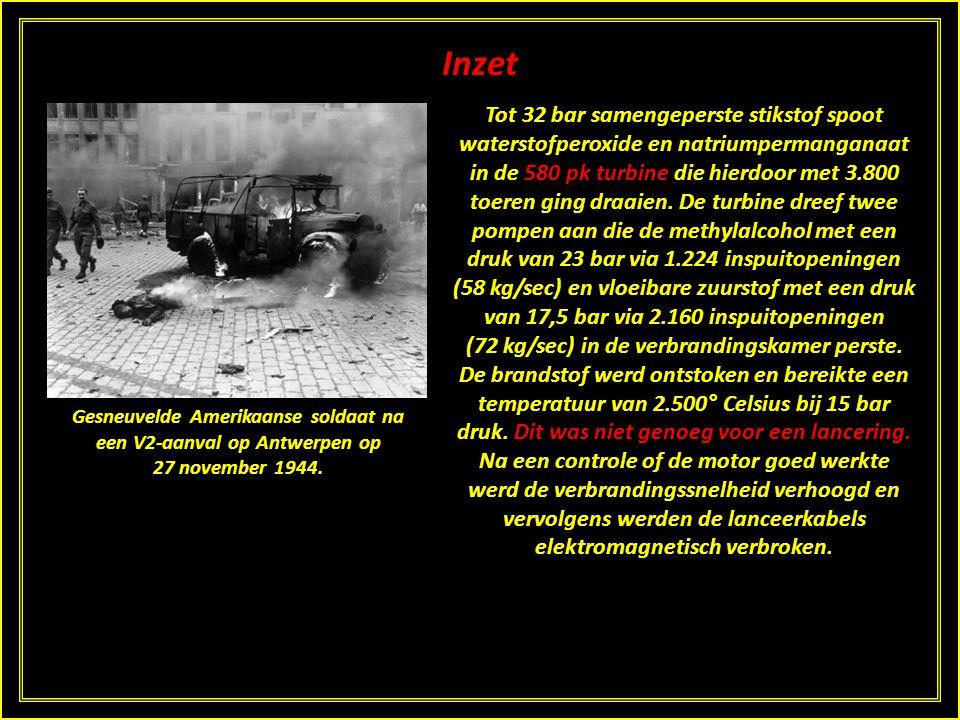 Inzet Uiteindelijk was de meest succesvolle tegenmaatregel de geallieerde opmars die de Duitsers ertoe verplichtte hun lanceerbases buiten het bereik
