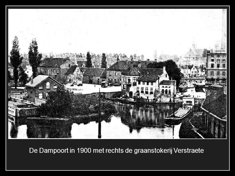 De handelslkom aan het Fort Lapin met scheepswerven