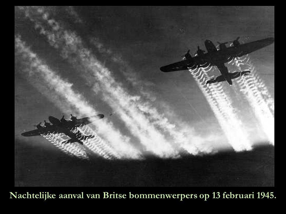 Op 13 februari 1945 stond de avondhemel boven Dresden op het punt de hel op aarde te worden !