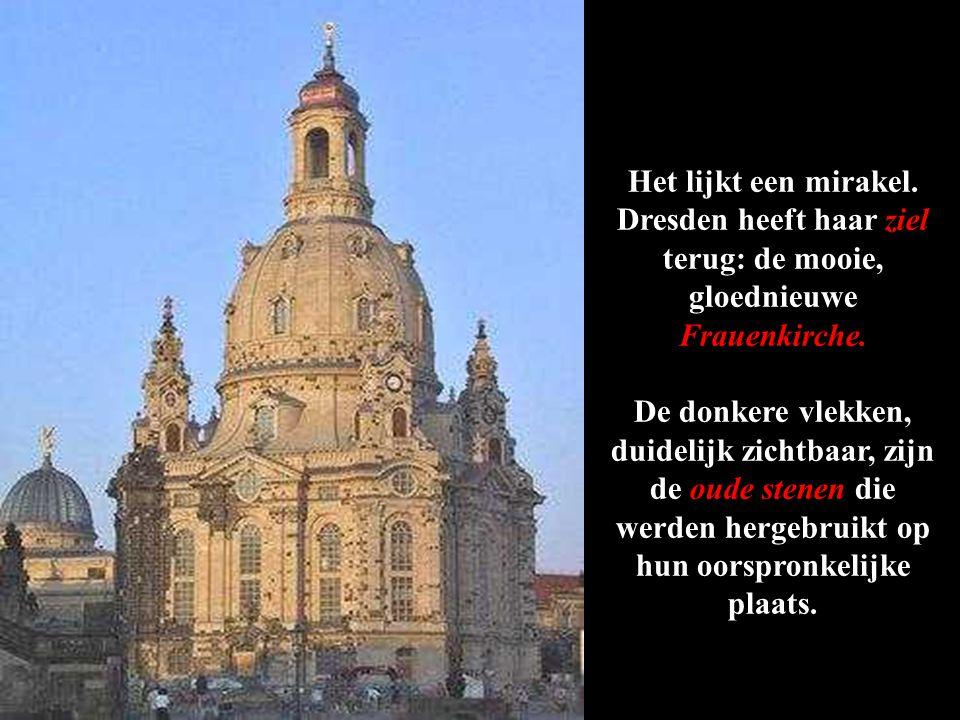 De nieuwe kerk is bijna voltooid.