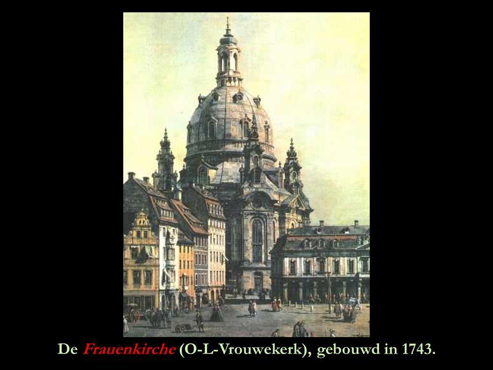 De beroemde Zwinger rond 1900.