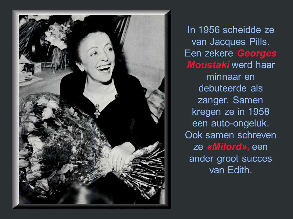 De dood van Marcel Cerdan had het leven van Edith verwoest. In 1953 volgde ze een eerste kuur om van haar morfineverslaving af te raken. Dan volgden t