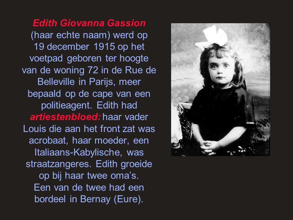 Frankrijk was bezet, maar Edith hield niet op met zingen, zowel voor de Fransen als voor de … Duitsers.