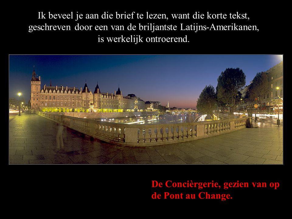 De Pont des Arts in de vroege morgen. Hij heeft een afscheidsbrief gestuurd aan zijn vrienden. Dankzij het internet kan die nu worden rondgestuurd.
