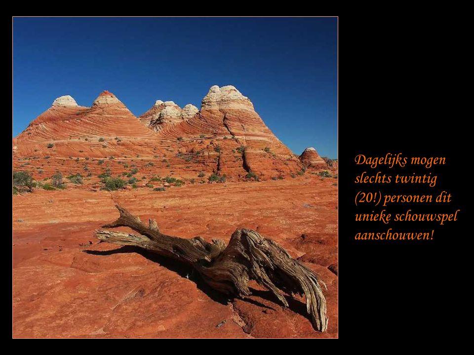 Het schouwspel is ongelofelijk mooi … De vorm van de rotsen en hun fantastische kleuren …