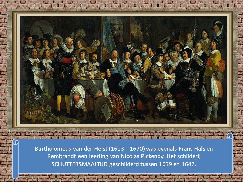 Frans Hals, geboren in Antwerpen 1583 – 1666 overleden in Haarlem Het Bruidsmeisje