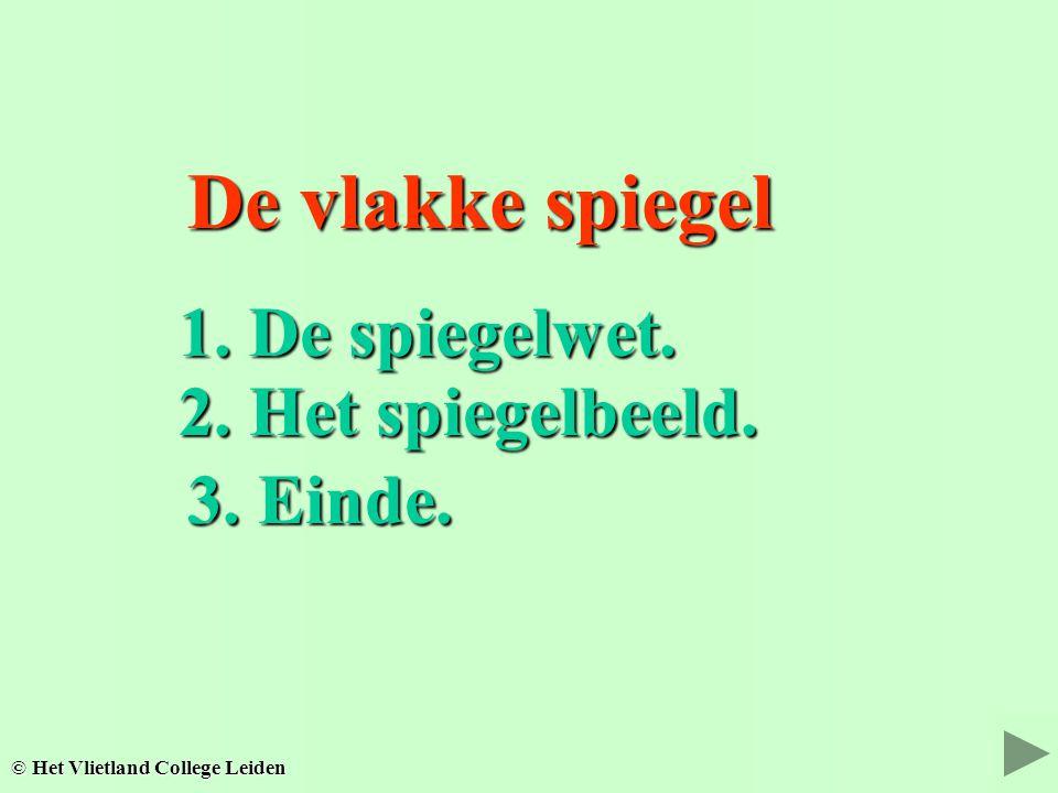 Kleuren... Kleuren... © Het Vlietland College Leiden 3. Einde.