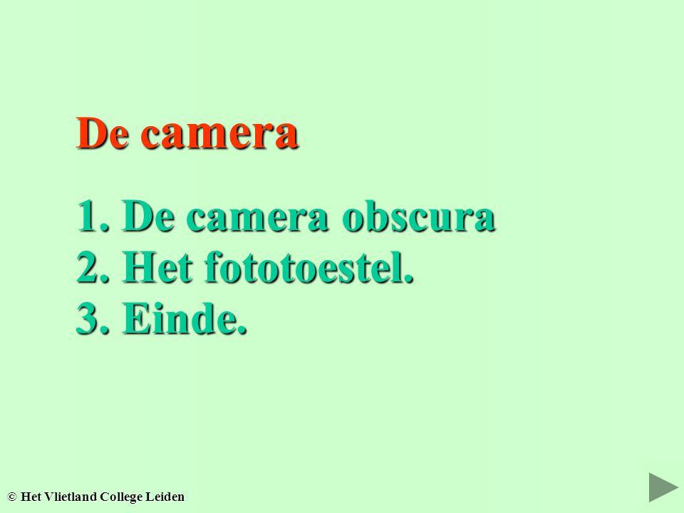 Het oog Het oog © Het Vlietland College Leiden 3. Einde. 3. Einde.