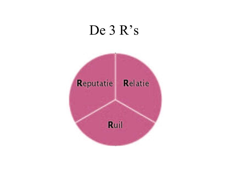 De 3 R's