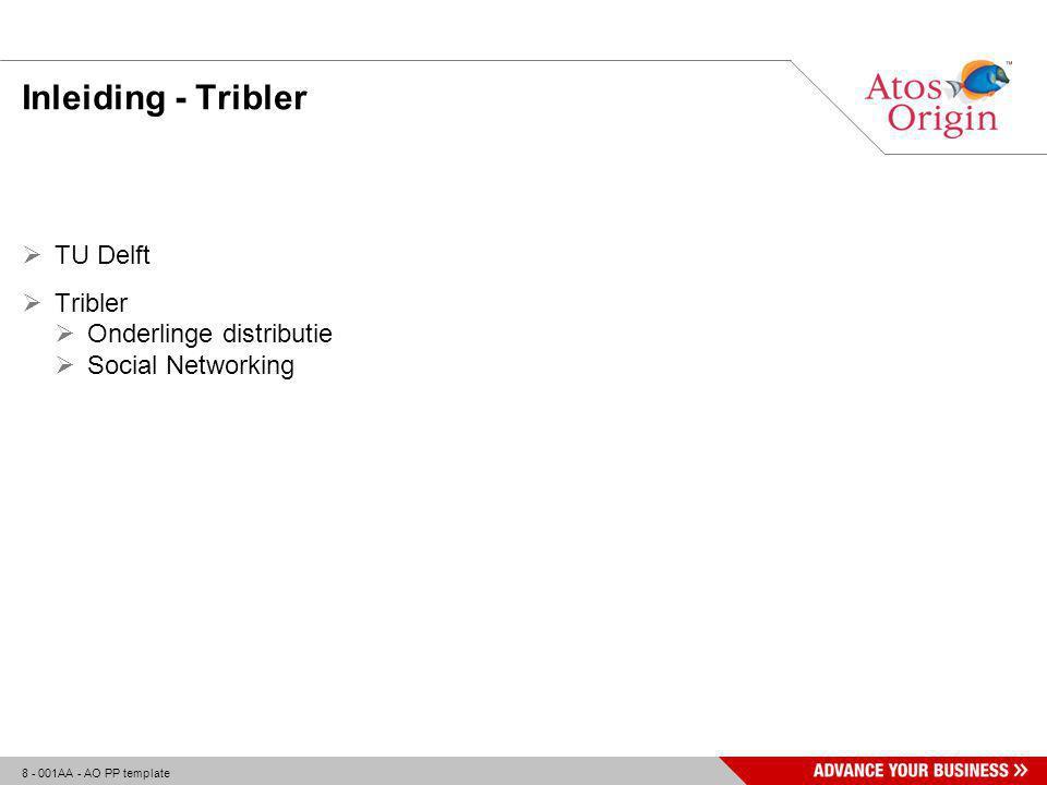 19 - 001AA - AO PP template Tribler – Multiple Description Coding  Todo