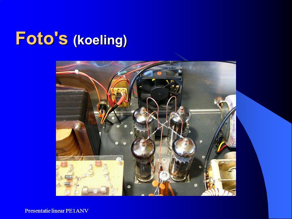 Presentatie linear PE1ANV Foto's (koeling)