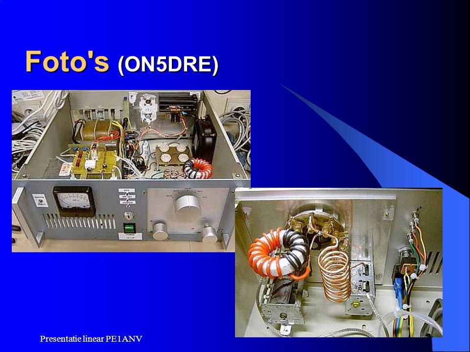 Presentatie linear PE1ANV Foto's (ON5DRE)