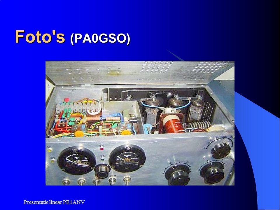 Presentatie linear PE1ANV Foto's (PA0GSO)