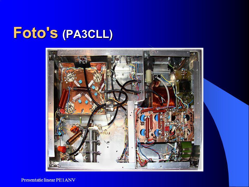 Presentatie linear PE1ANV Foto's (PA3CLL)