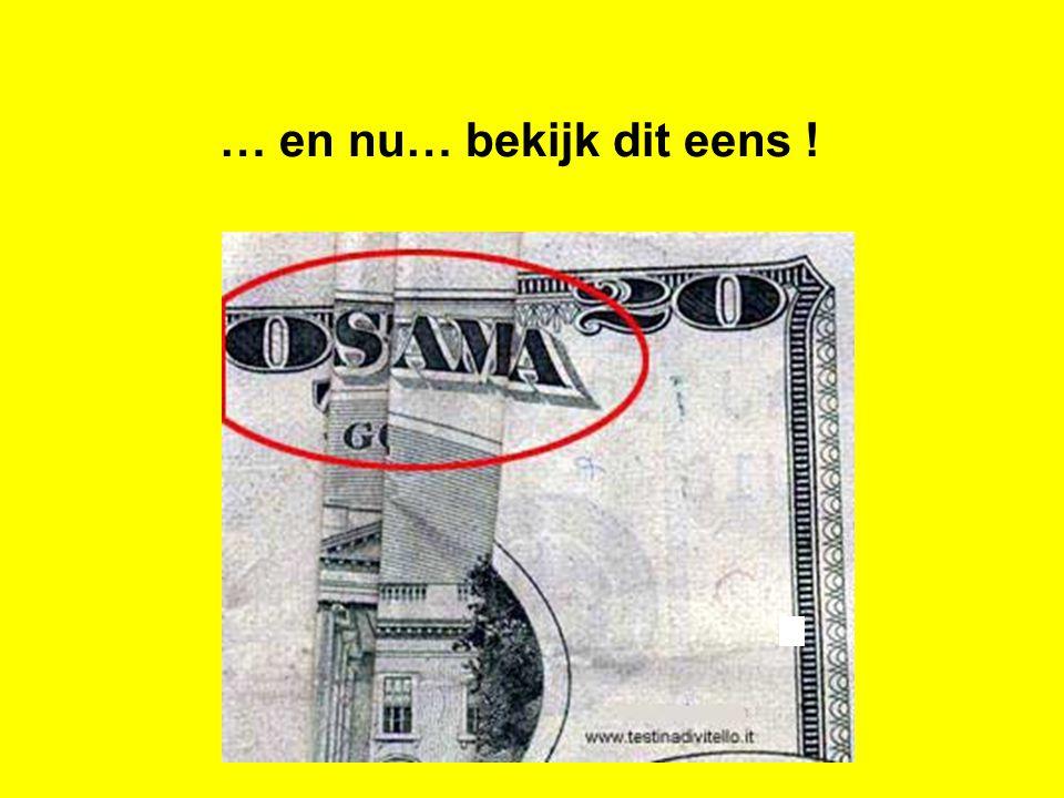 Een drie-voudige voorspelling op een simpel 20 dollar-biljet!!!!!!!!.