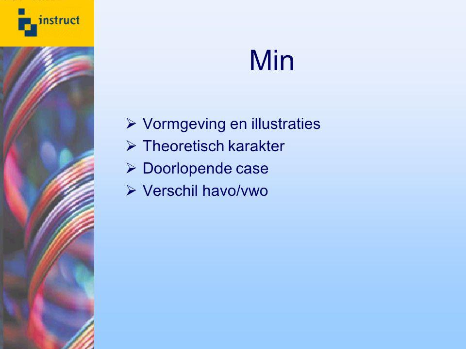 Plus  Veel (praktijk)opdrachten  Zelfstandig werken  Module Visual Basic  Opbouw