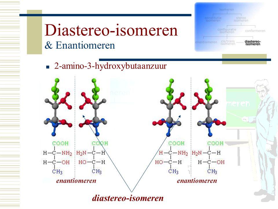 2-amino-3-hydroxybutaanzuur enantiomerenenantiomeren diastereo-isomeren