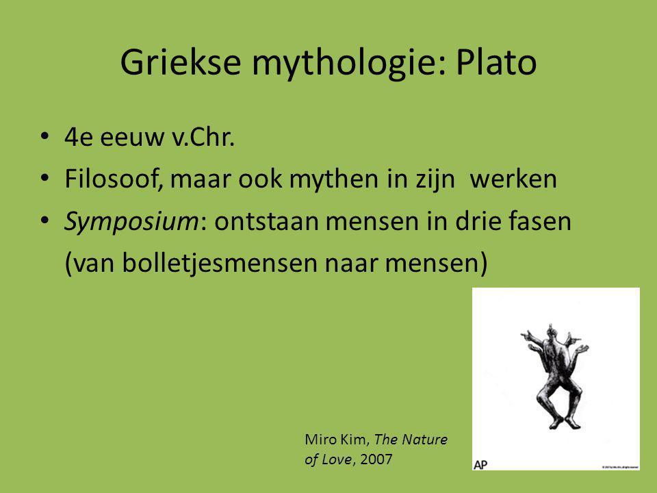 Griekse mythologie: Plato 4e eeuw v.Chr.