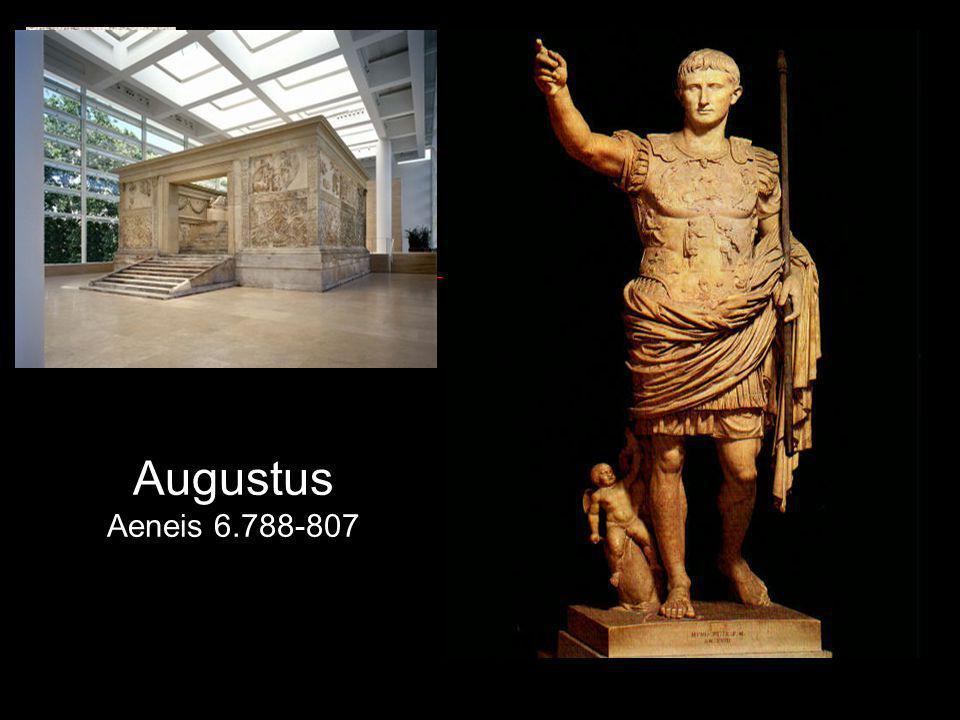 Augustus Aeneis 6.788-807 Afvaart van Aeneas