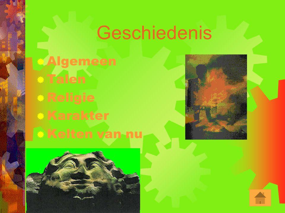 Inhoudsopgave  Geschiedenis  Acht Jaarfeesten  Keltisch Grote Jaar  Keltisch Heilige Vuur  Keltische Bomenmagie  13 Bomenmaanden  Dierenmagie 
