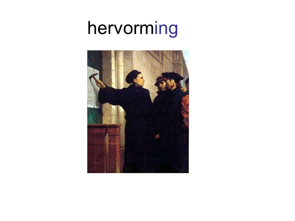 hervorming