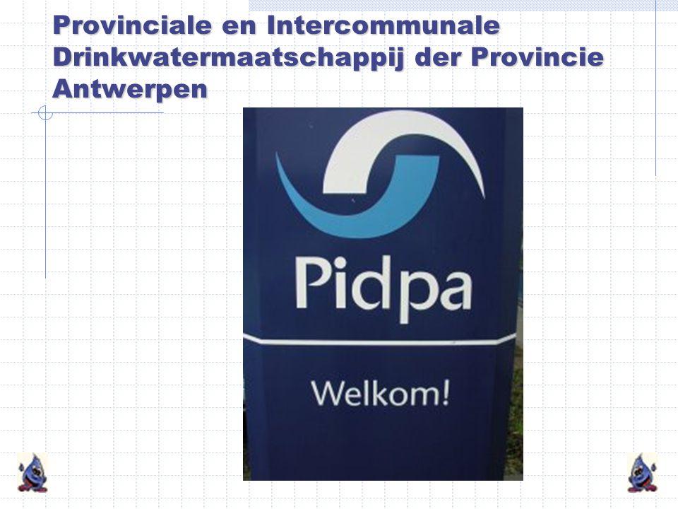 Provinciale en Intercommunale Drinkwatermaatschappij der Provincie Antwerpen