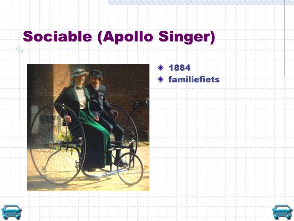 Twee hoge bi's American Star 1884 herenfiets New Rapid Dwarf Safety 1885 damesfiets
