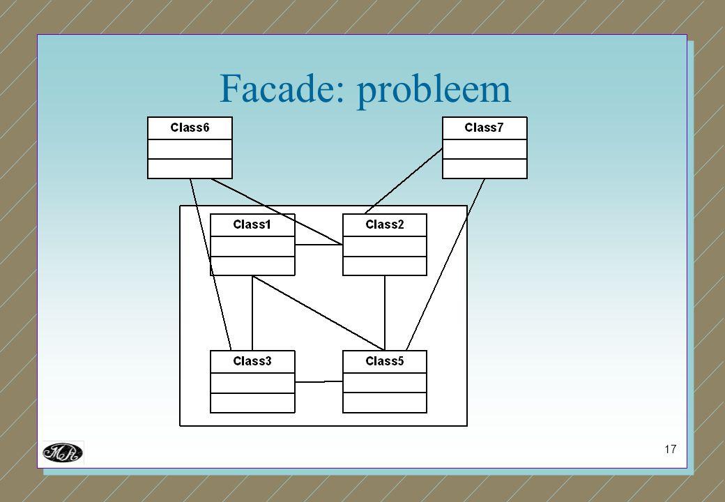 17 Facade: probleem