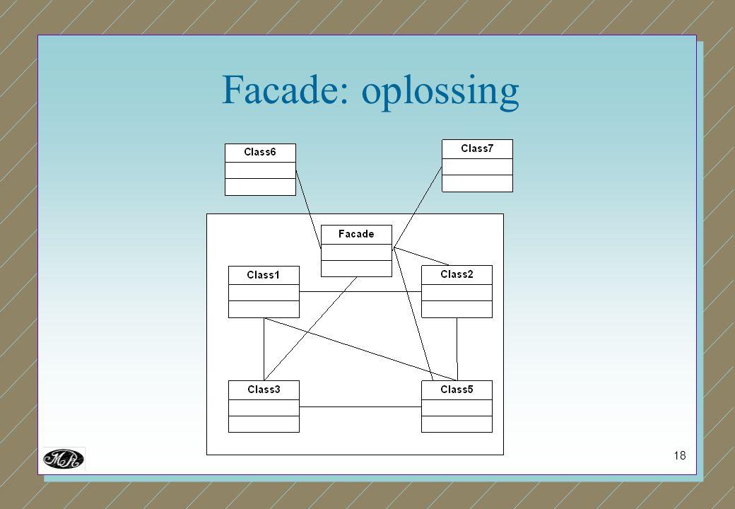 18 Facade: oplossing