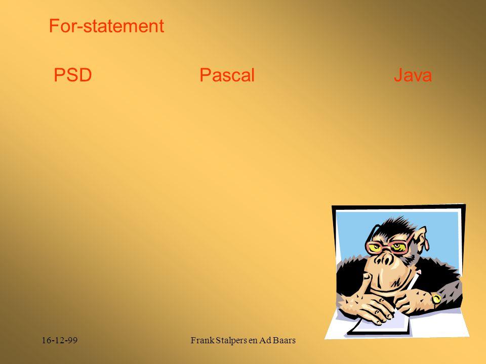 16-12-99Frank Stalpers en Ad Baars For-statement PSDPascalJava