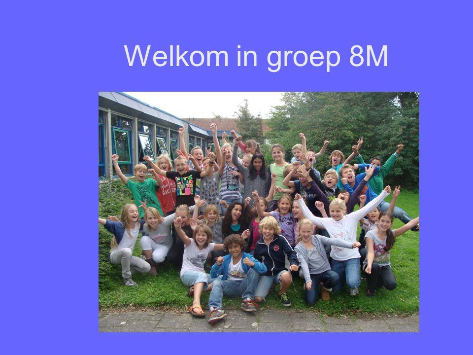 Welkom in groep 8M