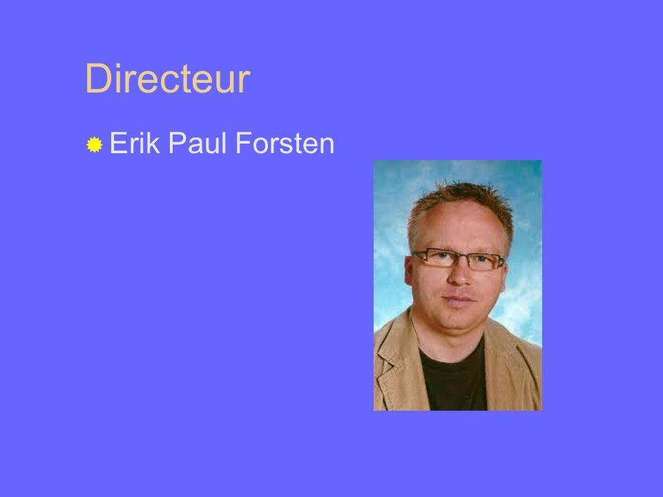 Directeur  Erik Paul Forsten